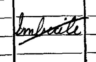 """""""Imbecile""""- snip from a census return"""