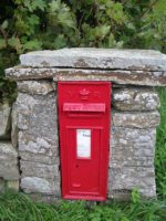 Photo of letterbox at Melsetter