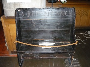 Picture of stool of repentance