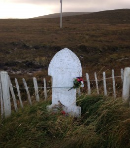 Photo of Betty Corrigall's grave