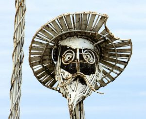 "Photo of Don Quixote statue - he is source of ""quixotic""quixotic d"