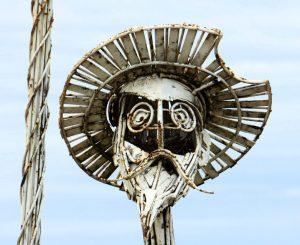 """Photo of Don Quixote statue - he is source of """"quixotic""""quixotic d"""