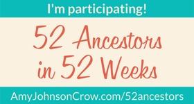 52 ancestors in 52 weeks logo