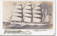 Photo of ship the Benares