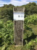 Information post on the Clearances Trail, Kildonan, Sutherland, Scotland