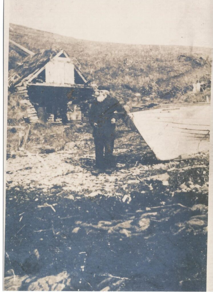 Photo of James Nicholson fisherman in Brims