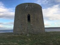 Photo of the Martello Tower at Crockness, Hoy, Orkney