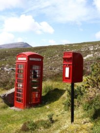 photo of phonebox and postbox